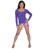 Hip Hop/Acrobatics & Contemporary Dance Classes Girls : Fitted Shirt (covering waistline) & Dance Shorts, or Leotard and Convertible Tights ...any fun and funky combination!